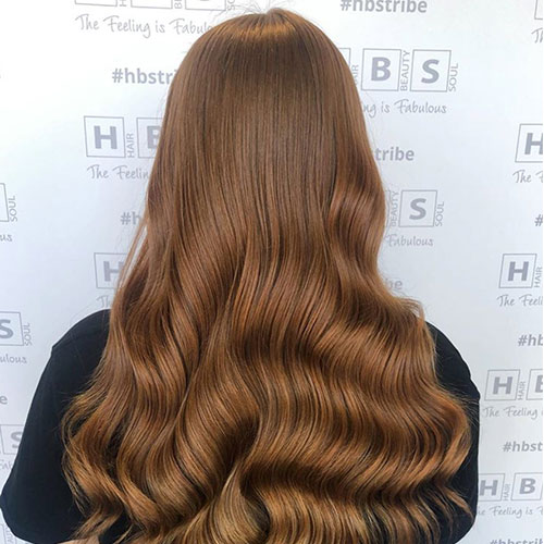 Event Hair Style - Red Head