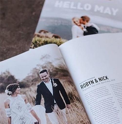 Hello May Wedding Profile - Robyn & Nick